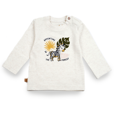 Frogs and Dogs Shirt Zebra Off-white