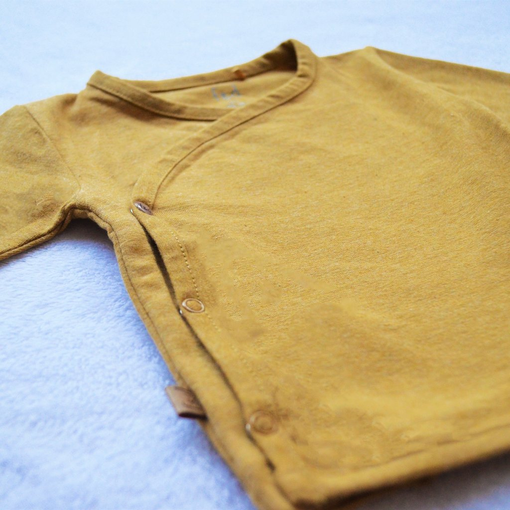 Frogs and Dogs Omslagshirt Effen Ocher