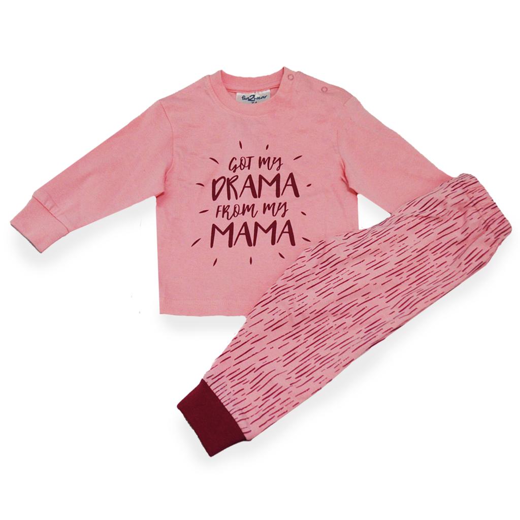 Fun2Wear Pyjama Mama's Drama Roze