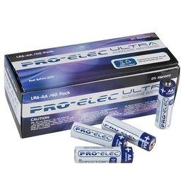 Pro-Elec AA 1,5V  2,6Ah Alkaline Pro-Elec Ultra