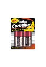Alkaline D - LR20 Battery Camelion 2 pieces