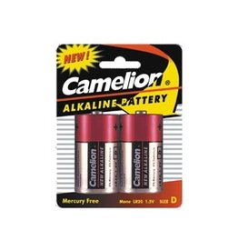 D type  LR20 1,5V Alkaline Battery Camelion 2 pieces