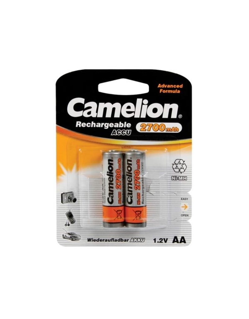 Camelion Ni-Mh 1,2V 2700mAh AA 2pcs in Blister Camelion