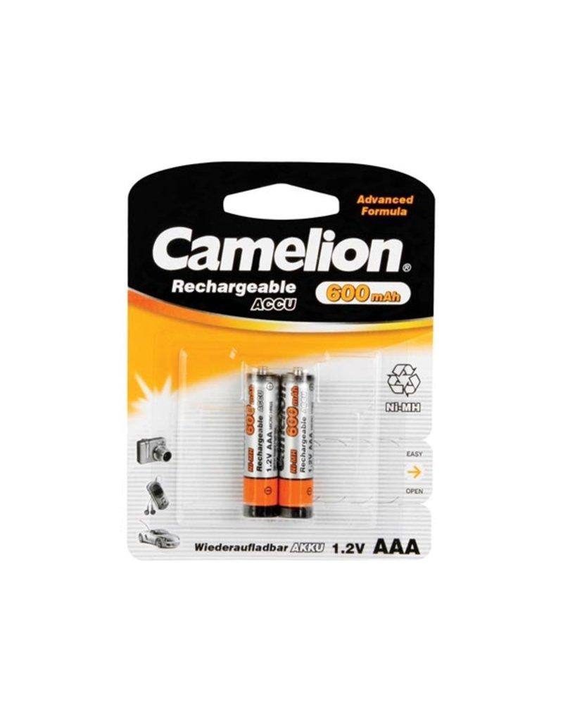 Camelion Ni-Mh 1,2V 600mAh AAA 2pcs in Blister