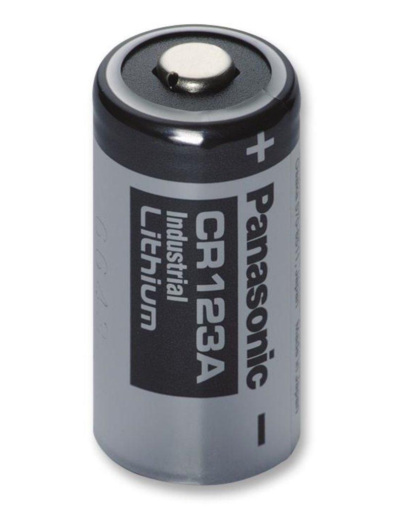 Panasonic Lithium CR123A battery 1400mAh 3V 17mm