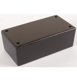 Plastic Box - Black plastic - 130x70x45mm WCAH2853