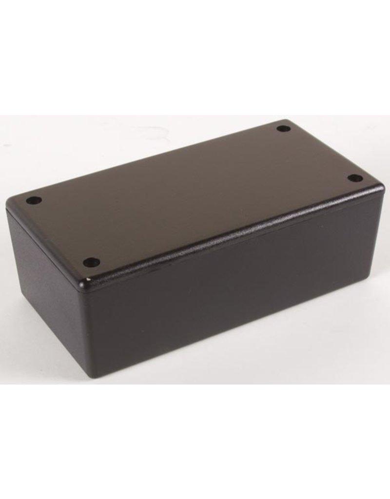 Plastic Box - Black plastic - 160x95x55mm WCAH2851