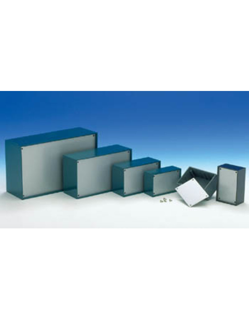 Teko TKP2B Plastic Optative Enclosure - Petrol Blue 110x70x48mm