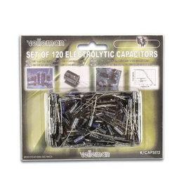 Velleman Velleman Set of 120 Electrolyt Capacitors K/CAP2