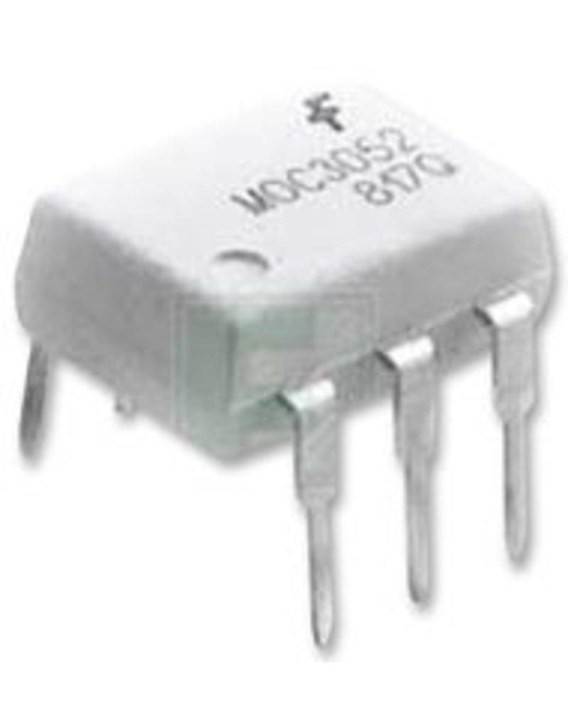 ON Semi Optocoupler, Triac Output, DIP, 6 Pins, 5.3 kV, Non Zero Crossing, 400 V