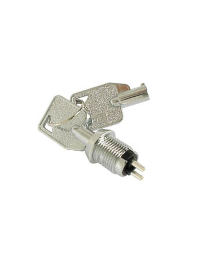 Key-switch 1P off-on SPST Small