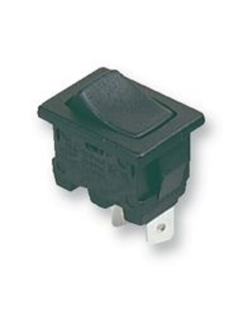 Rocker Switch SPDT On-Off 10A Black Arcolectric