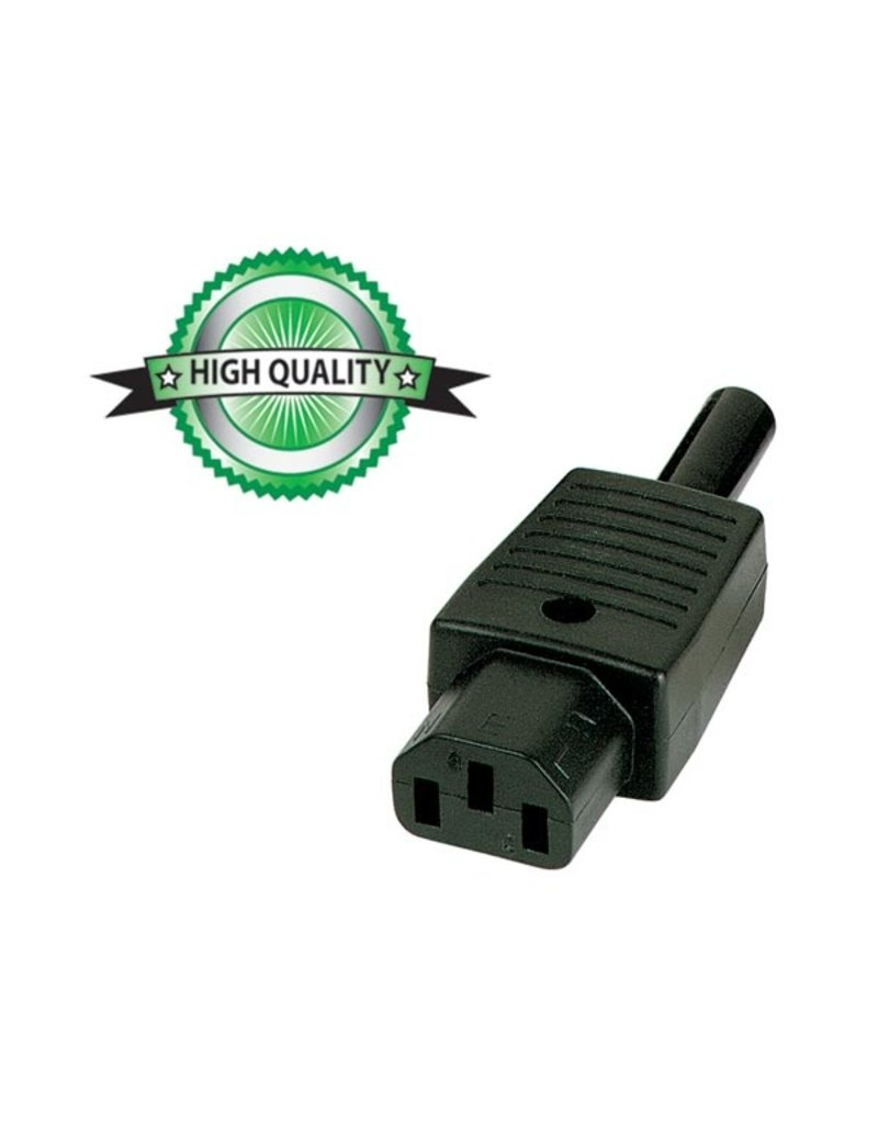 IEC AC Connector Female, Cable, 10A 230V