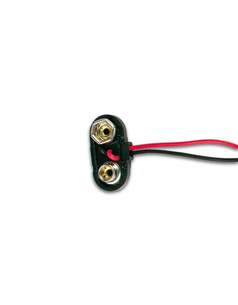 9V T-Type Battery Connector