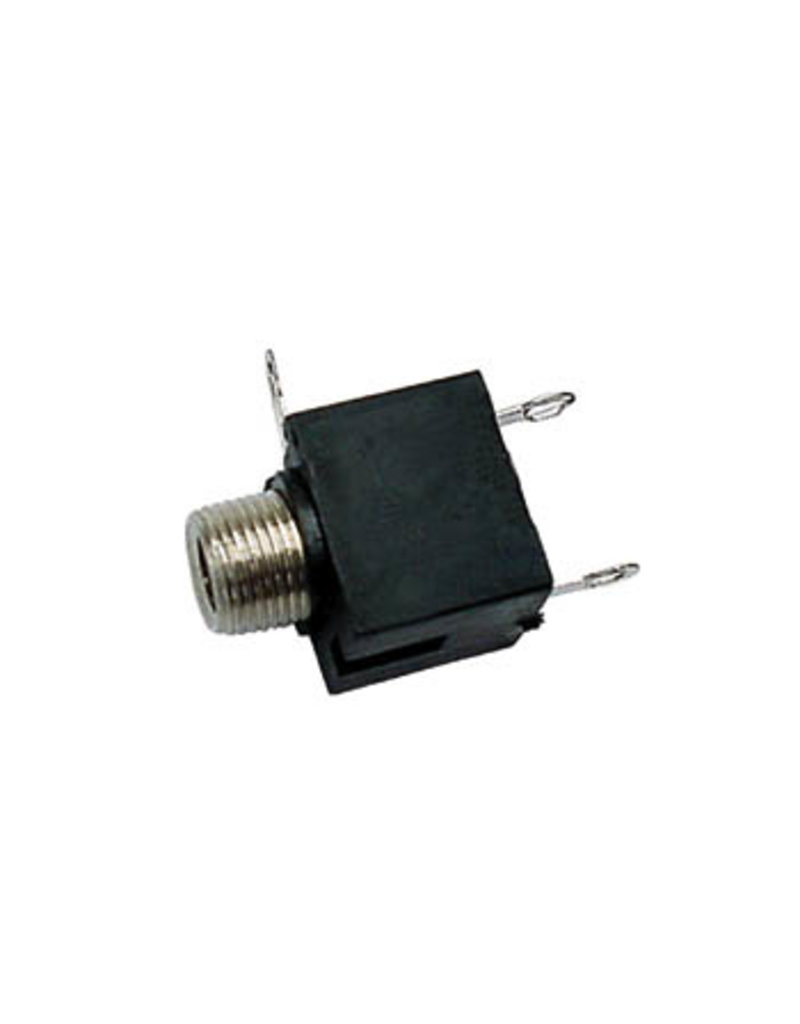 3,5mm Female Jack Connector Chassis Black Mono CA016