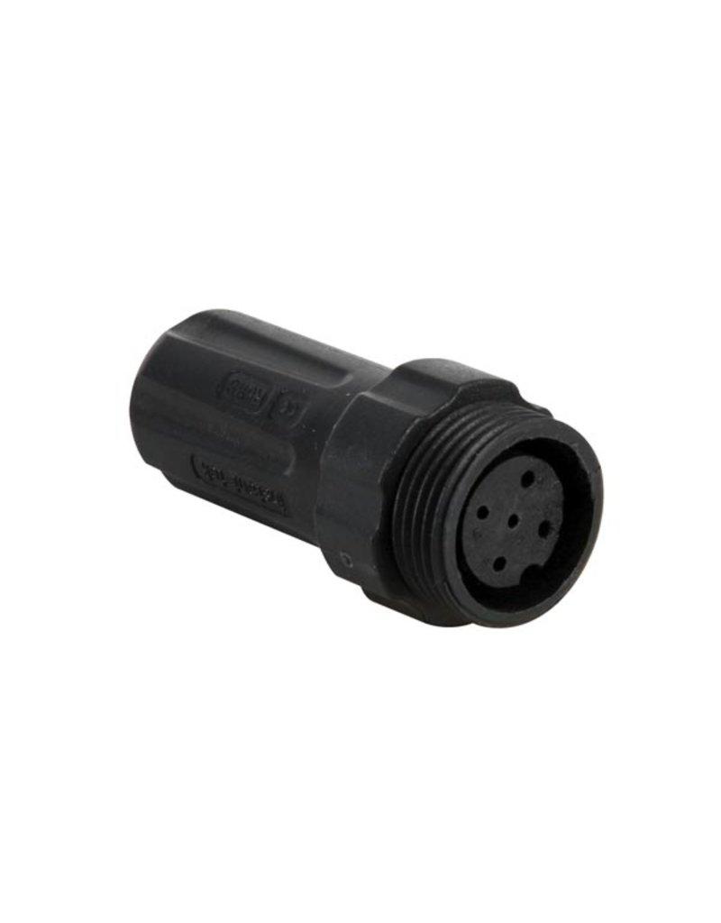 Waterproof Female connector - 5 pins