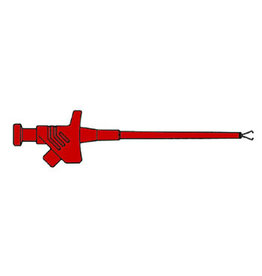 Clamp with Flexible Shaft - Red - KLEPS30