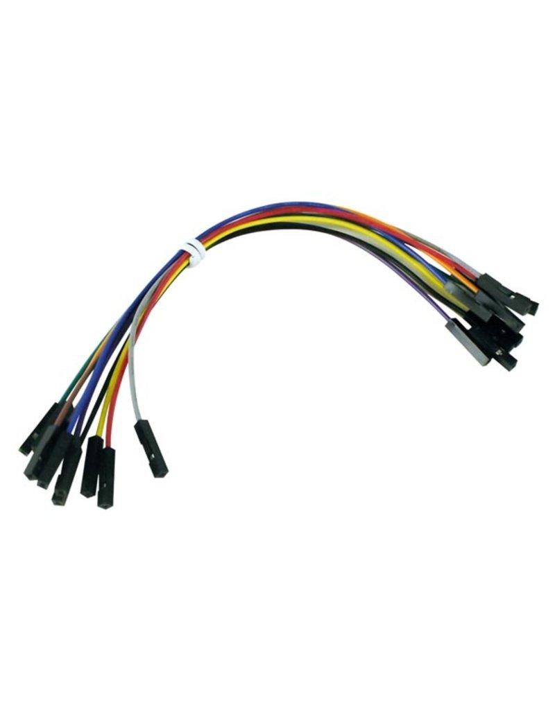 Breadboard Jumper Wires - 10 pcs. - 15cm - Female to Female