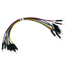 Breadboard Jumper Wires - 10 pcs. - 15cm - Male to Male