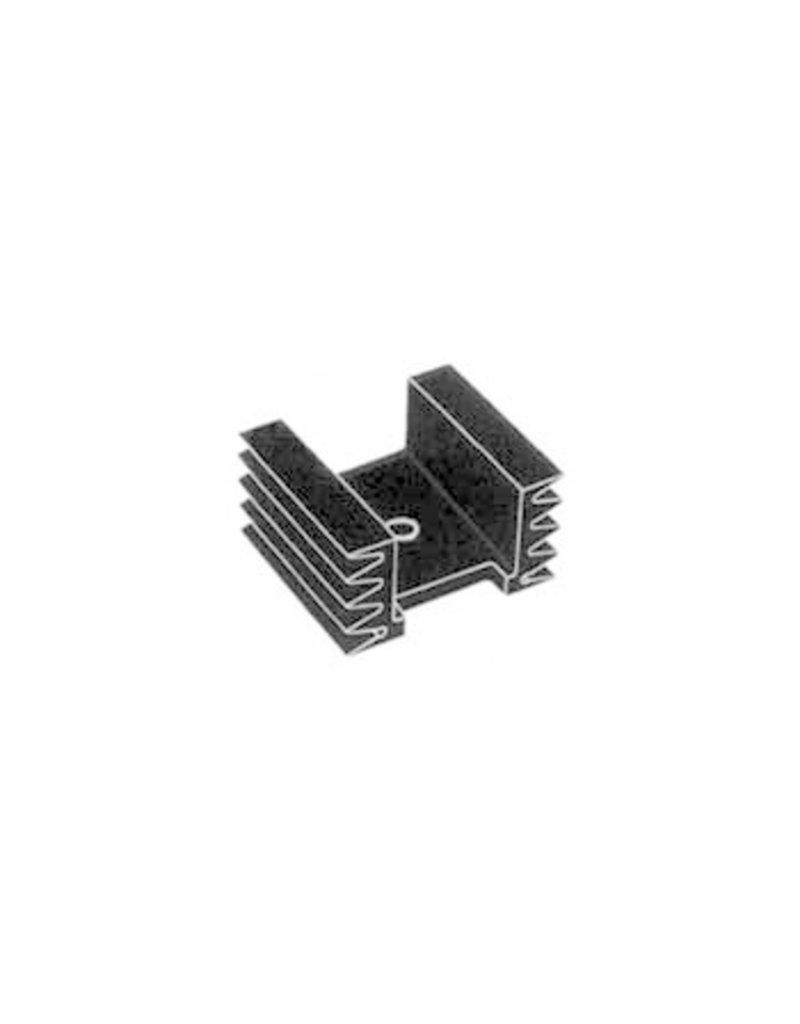 TO220 - TO3P Heatsink 38x36x20mm