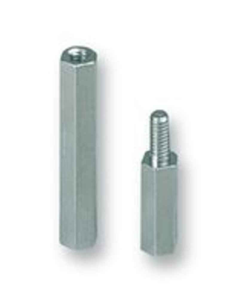 Spacer 12mm M3 1pc.