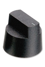 Knob KX0608 Black 28,1mm Bulgin