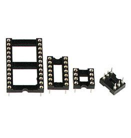 Multicomp 16 Pin DIL IC-Socket Tulip