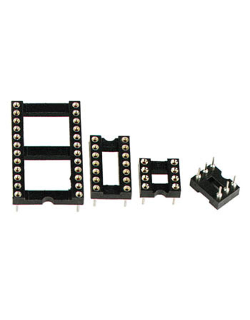 6 Pin DIL IC-Socket Tulip