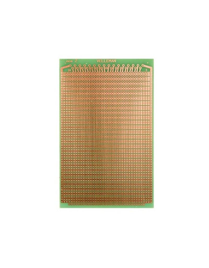 Prototype Board Eurocard 2-Hole Island 100x160mm