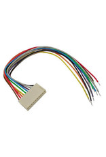 Board to Wire connector Female 10 Contacts 20cm BTWF10