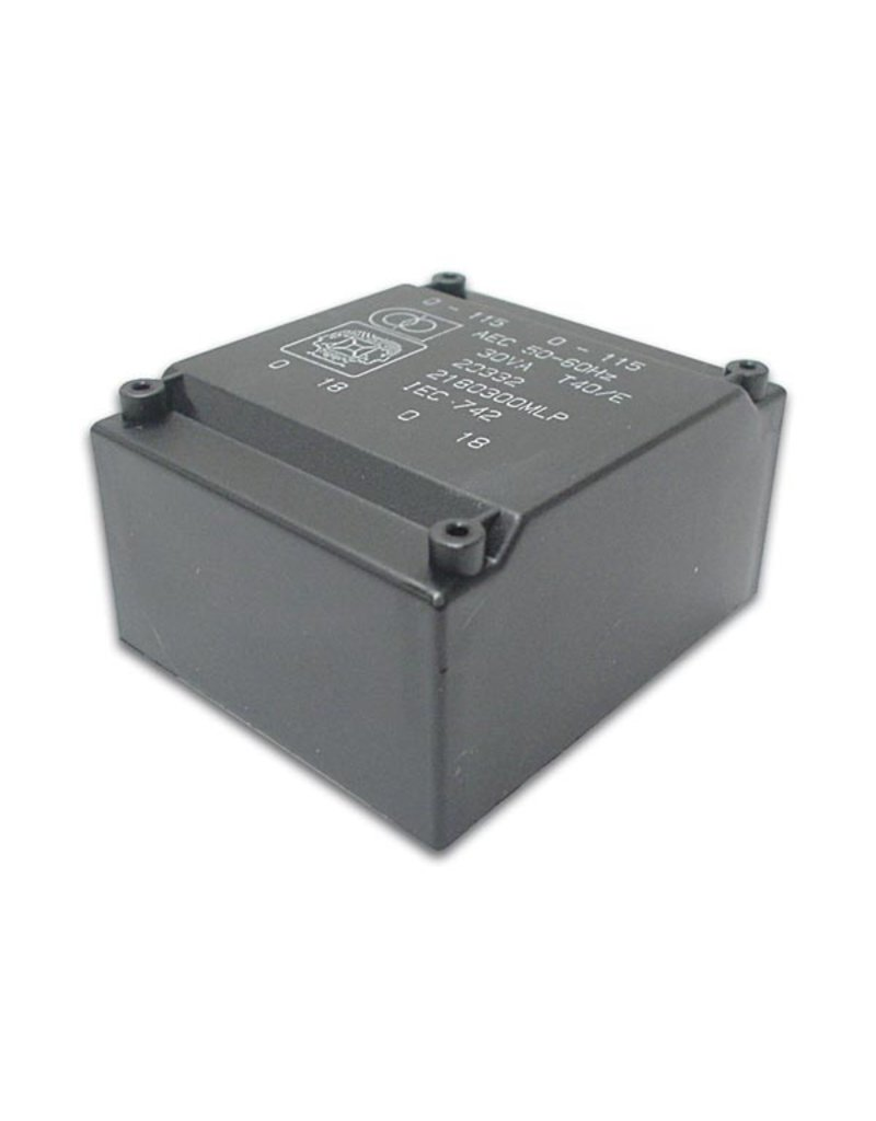 Velleman 2x9V 10VA Low Profile Transformer Velleman