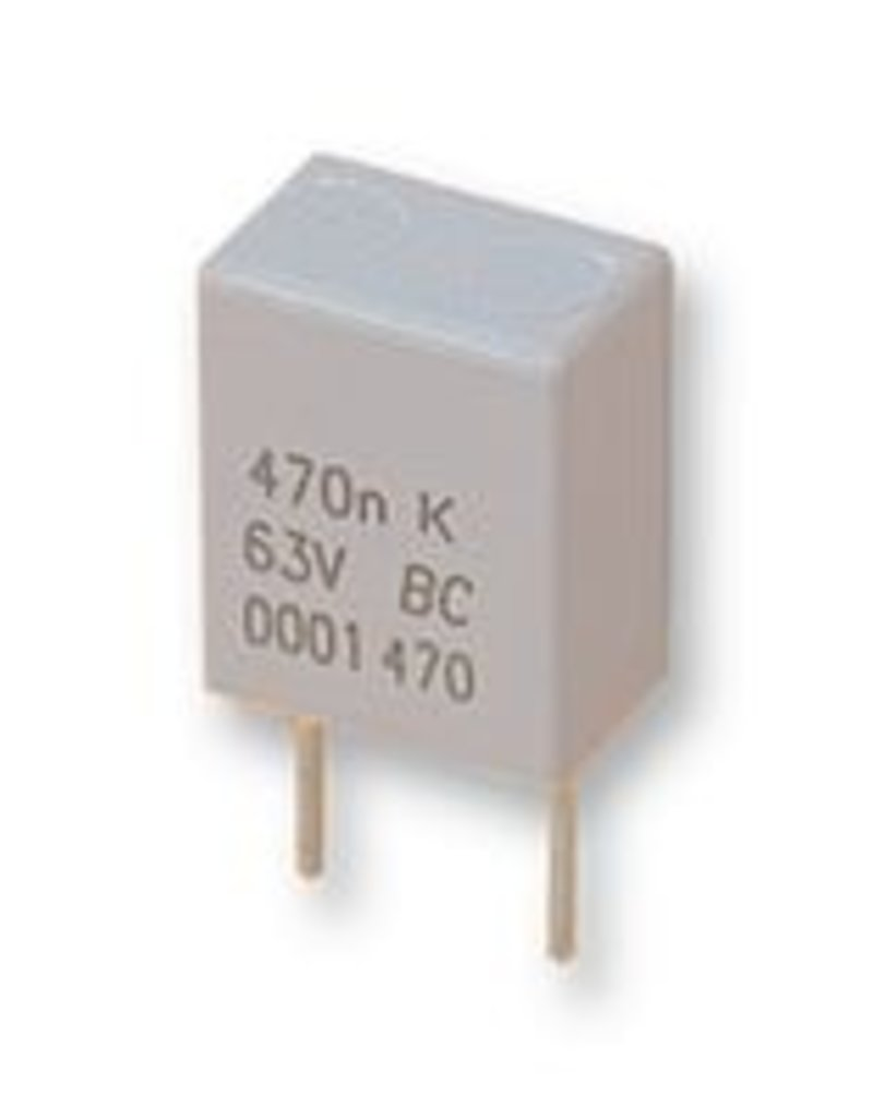 1,5µF 50V 5mm MKT BC Components