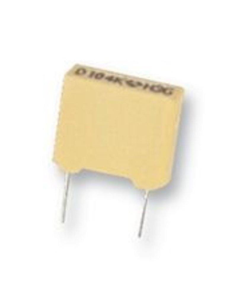 2,2nF 63V 5,0mm MKT AVX