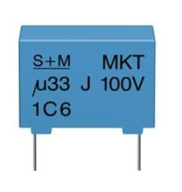 Epcos 330nF 100V 7,5mm MKT Epcos