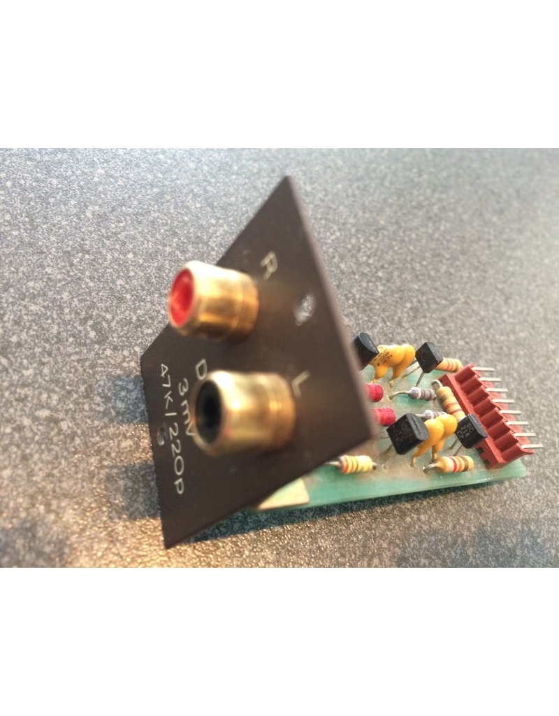 Quad 34 Disc input board - MC 100µV 100R 22n