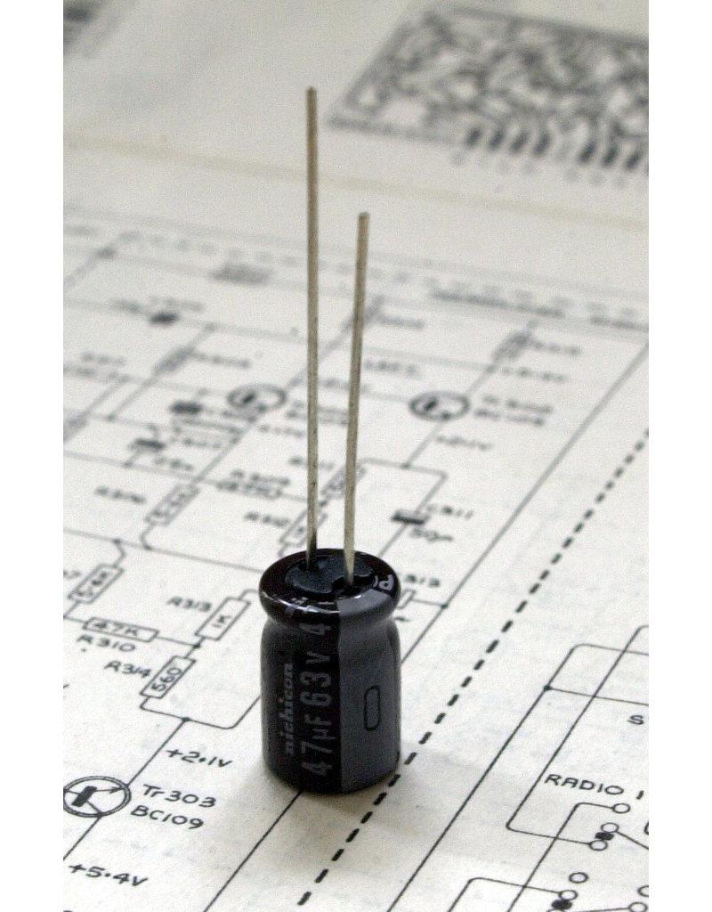 47µF 25V Radial Panasonic