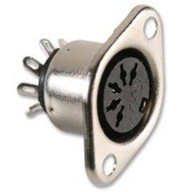 5-Pin DIN Socket Chassis 180° Neutrik