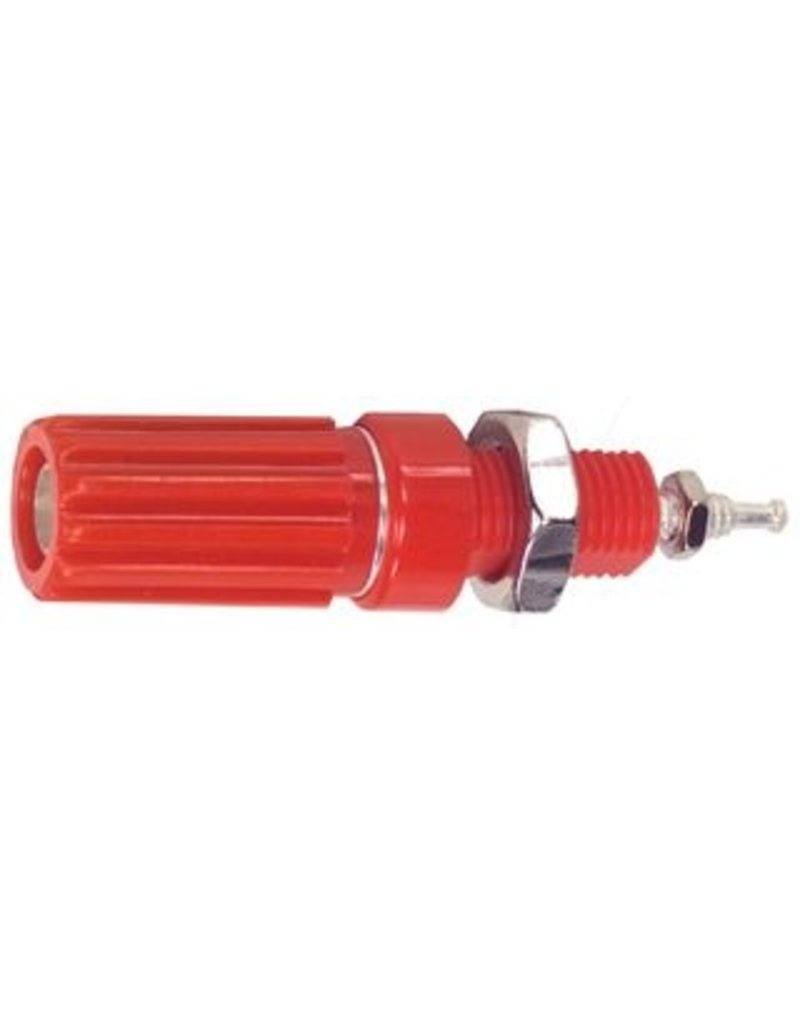 Binding Post Red Silvered SPC