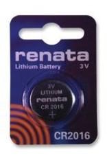 Renata Button Cell CR2016 Lithium Renata