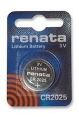 Button Cell CR2025 Lithium Renata