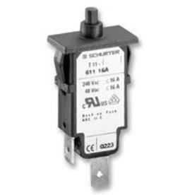 Circuit Breaker, Thermal, 240V 0,05-16A Schurter