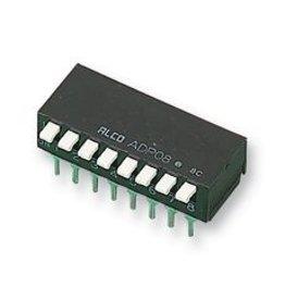 DIL Switch Piano 8-way Tyco