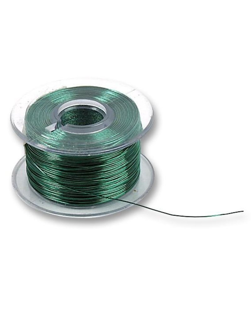 Enamelled Wire 38AWG 0,018mm2 1,5KV Green 38m