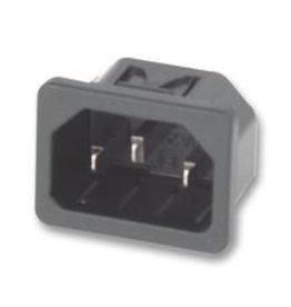 IEC Snap-in Power Inlet Male Shurter