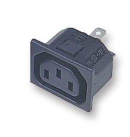 IEC Snap-in Power Outlet Female Bulgin