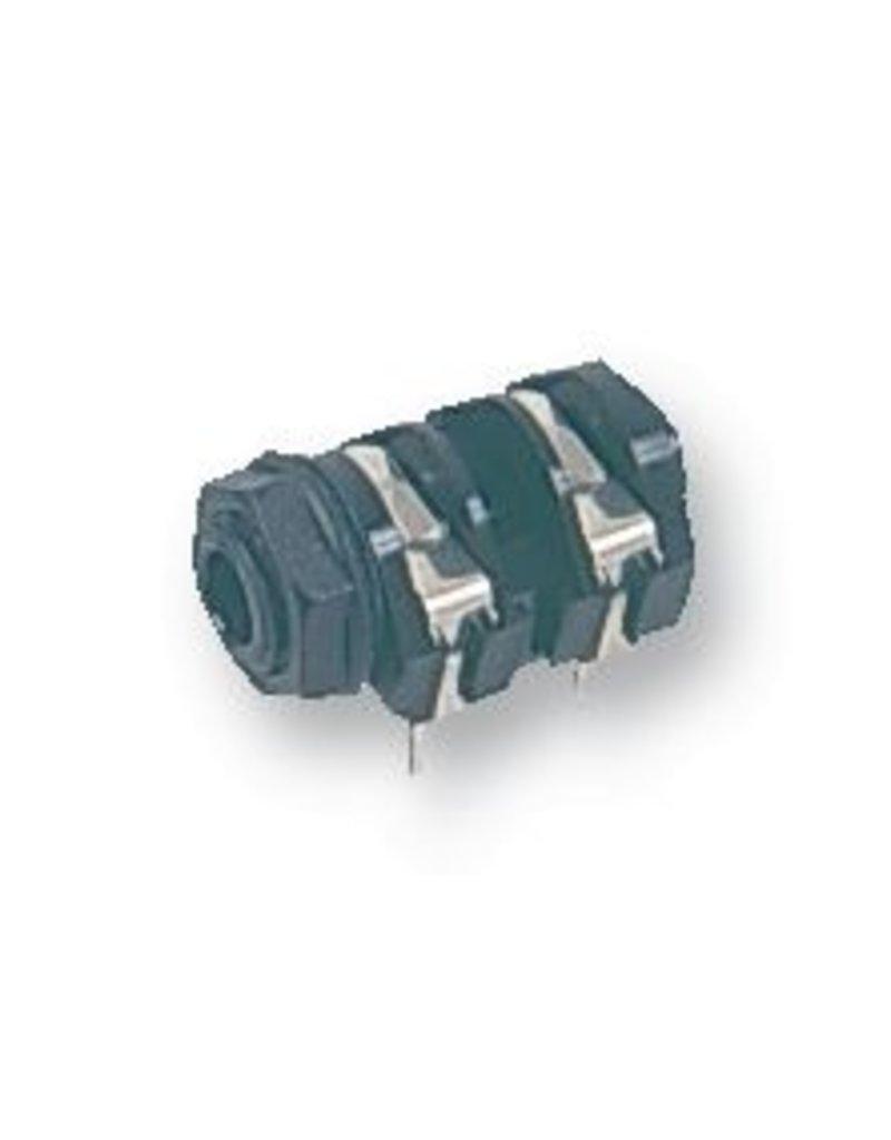 Jack Socket, 6,3mm, PCB, Mono Switched Cliff Electronics