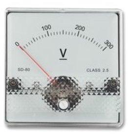 Panel Meter SD38 15V DC 45x45mm Multicomp