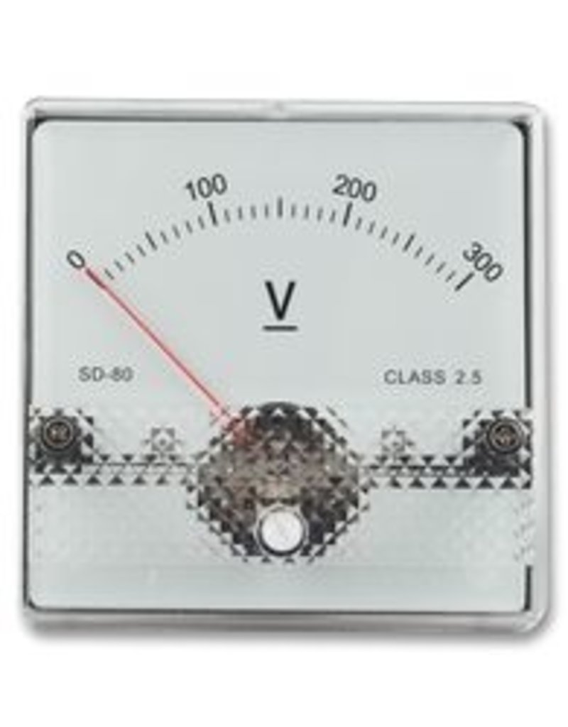 Multicomp Panel Meter SD38 15V DC 45x45mm Multicomp