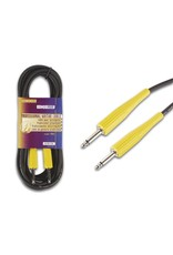 Professional Jack Instrument Cable, 6m Yellow