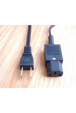 Quad 33 to FM4, 405 or 606 Power-cable Any length up to 3m